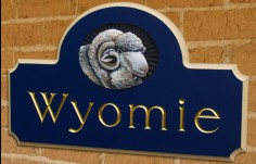 Wyomie Property Sign