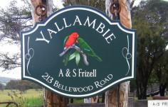 Yallambie Custom Mailbox Sign