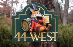 44 West House Sign