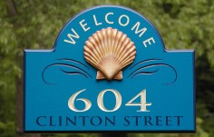 604 Welcome Sign