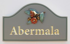 Abermala Property Sign