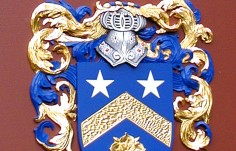 Airy House Family Crest Detail