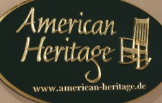 American Heritage Sign