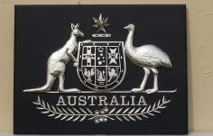 Australian Coat-of-Arms Crest