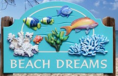 Beach Dreams Beach House Sign