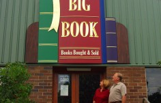 The Big Book main sign