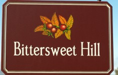 Bittersweet Hill Property Sign