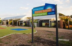 Broadmeadows School Sign on site