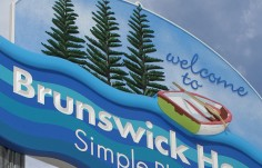 Brunswick Heads Town Welcome Sign Detail