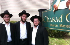 Chabad Center sign on site