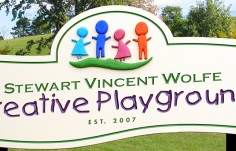 Creative Playground Sign