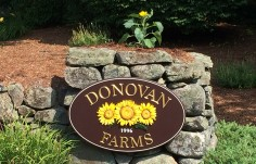 Donovan Farms Sign
