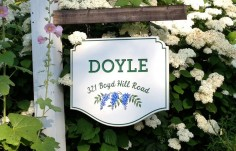 Doyle Family Name Sign | Danthonia Designs