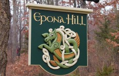 Epona Hill Hanging Sign