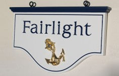 Fairlight Beach House Sign