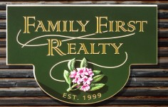 Family First Realty Sign