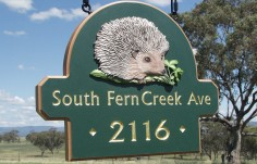 South Fern Creek Avenue House Sign