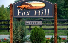 Fox Hill Entrance Sign