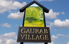 Gaurab Village Entrance Sign