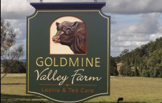 Goldmine Valley Farm Sign