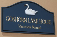 Goshorn Lake House Sign
