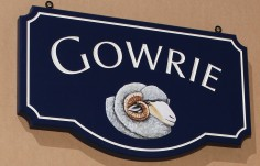 Gowrie Farm Sign