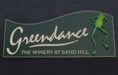 Greendance Winery Sign