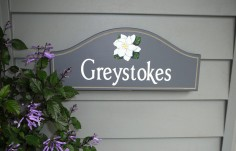 Greystokes House Sign On Location
