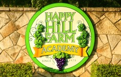 Happy Hill Academy Sign up close