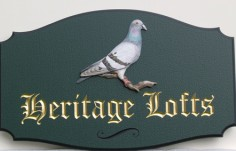 Heritage Lofts Sign