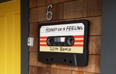 Hooked on a Feeling Sign