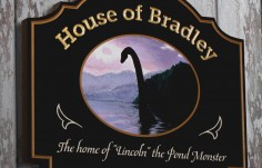 House of Bradley Sign | Danthonia Designs