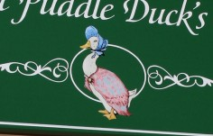 Jemima Puddle Duck Sign Detail