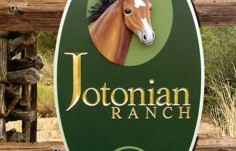 Jotonian Ranch Horse Sign