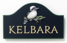 Kelbara House Sign