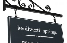 Kenilworth Springs Property Sign