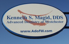 Kenneth Magid Dentistry Sign