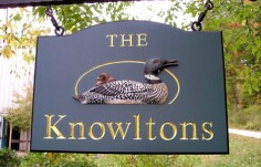 The Knowltons Property Sign