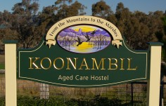 Koonambil Entrance Sign