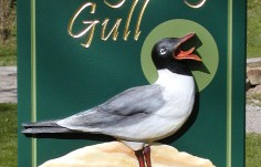 The Laughing Gull Sign