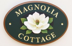 Magnolia Cottage House Sign