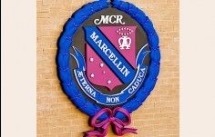 Marcellin College dimensional School Crest