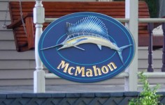 McMahon Fish Sign