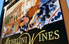 Michelini Wines Sign Detail