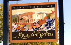 Michelini Wines Sign with subsign