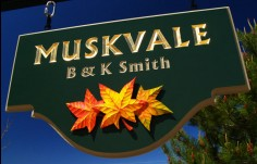 Muskvale Property Sign