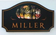Miller House Sign | Danthonia Designs