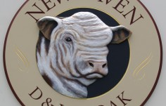 Newhaven Farm Animal Sign