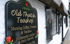 Old Thatch Teashop Wall Sign