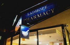Ladhope Pharmacy Sign | Danthonia Designs